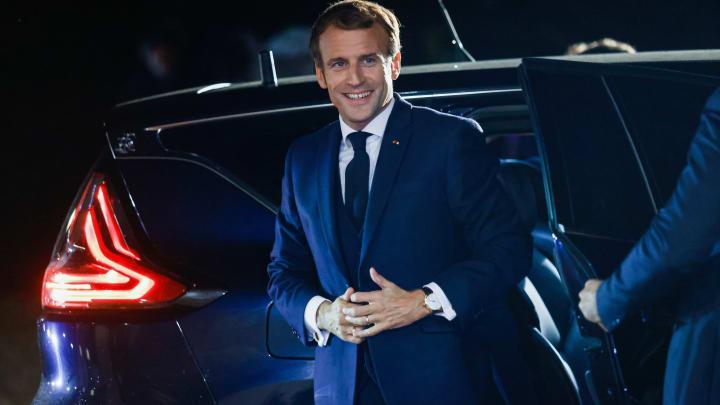 Emmanuel Macron sera dans le onze de départ du Variété Club France.