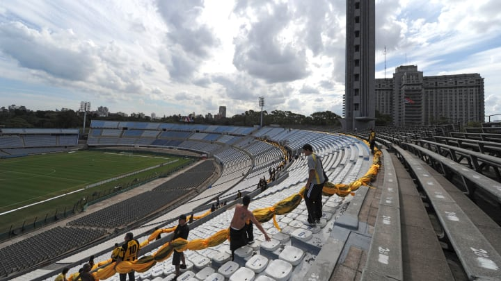 Estádio Centenario, em Montevidéu, será o palco das decisões