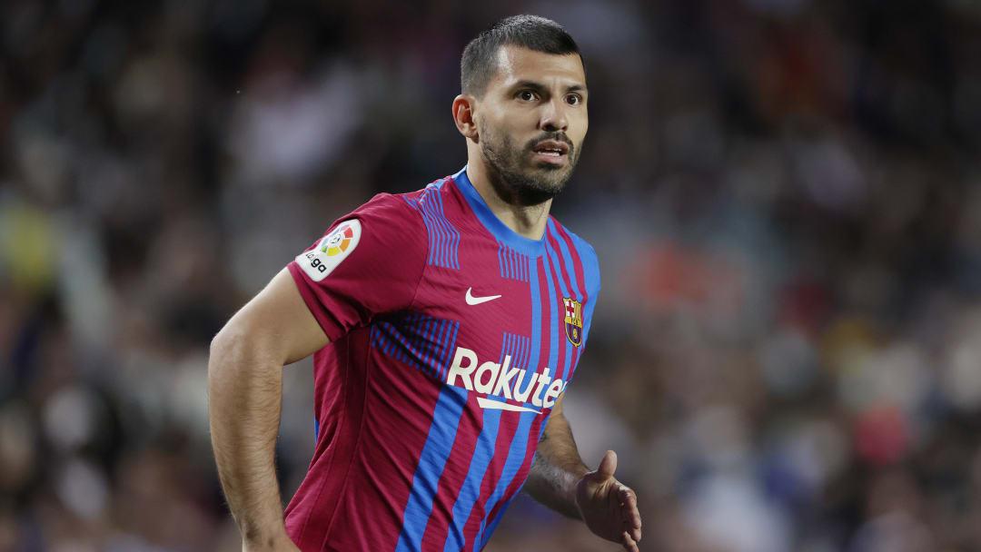 Agüero debutó con el FC Barcelona
