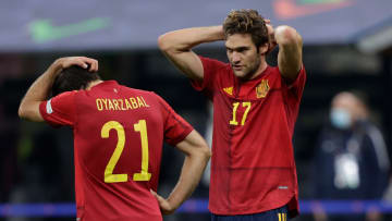 Mikel Oyarzabal opened the scoring at 66 ', but Spain couldn't keep their lead.