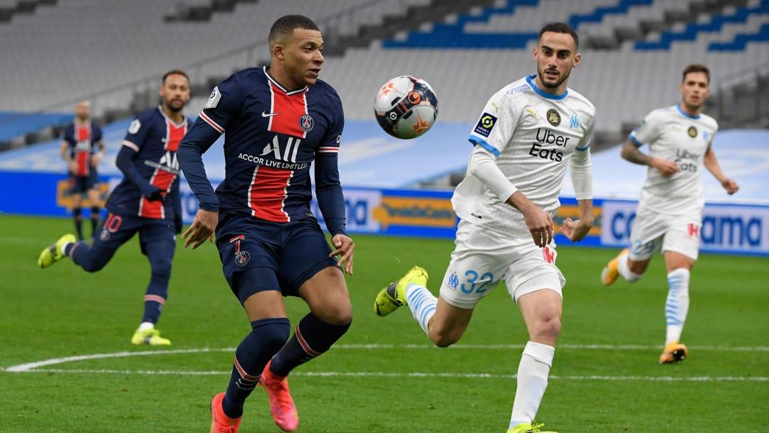 PSG e Marseille se enfrentam neste fim de semana