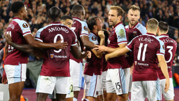 West Ham are back in European action