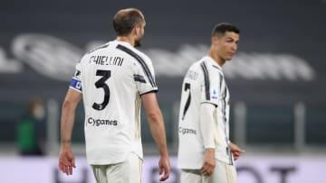 Giorgio Chiellini est revenu sur le départ de Cristiano Ronaldo.
