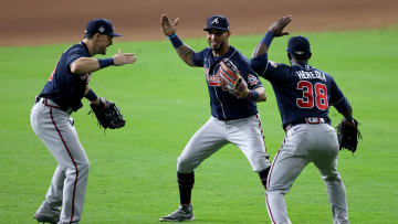 The latest 2021 MLB World Series odds show the Atlanta Braves as slim favorites over the Houston Astros following a crucial Game 1 victory.