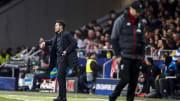 Diego Simeone (l.) verweigerte den Handschlag mit Jürgen Klopp