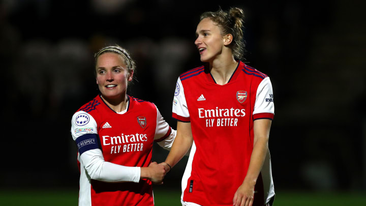 Arsenal cruised to victory in the UWCL on matchday 2