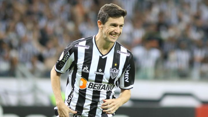 Nacho veio do banco de reservas e decidiu a vitória do Galo sobre o Santos