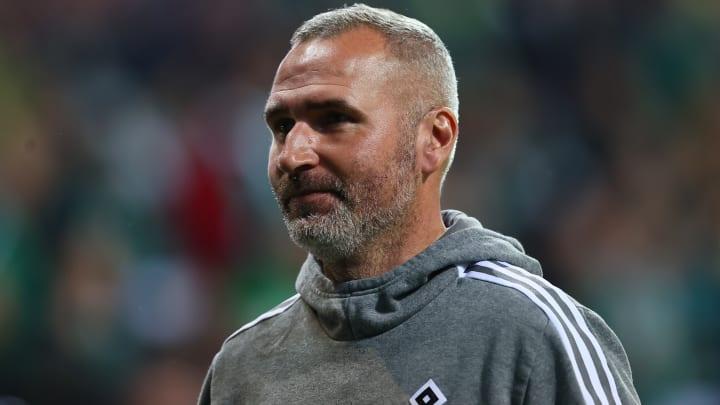 Wünscht sich lautstärkere Spieler - aber innerhalb des Rahmens vom Fairplay: HSV-Coach Tim Walter