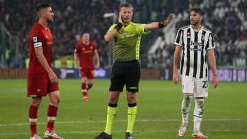 L'arbitro Orsato in Juve-Roma