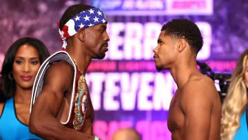 Jamel Herring v Shakur Stevenson result, fight time and fight card.