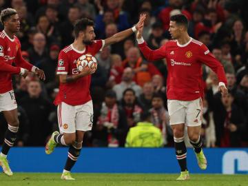 Man Utd came from behind to beat Atalanta 3-2 at Old Trafford