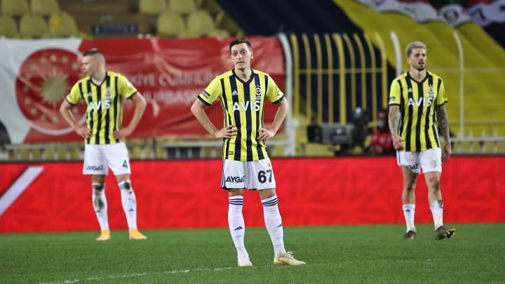 Fenerbahçe oyuncularının üzüntüsü
