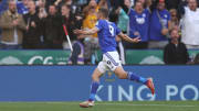 Jamie Vardy was on the scoresheet for Leicester