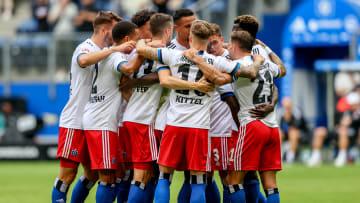 So wollen die HSV-Spieler auch morgen gegen die Fortuna jubeln