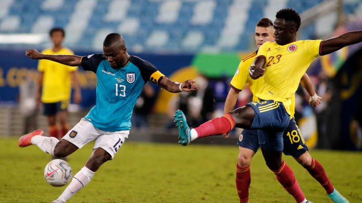 Colombia y Ecuador chocan en un juego fundamental para sus aspiraciones