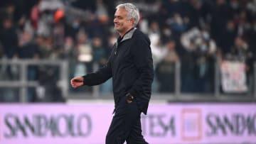 Jose Mourinho wasn't happy after losing to Bodo/Glimt