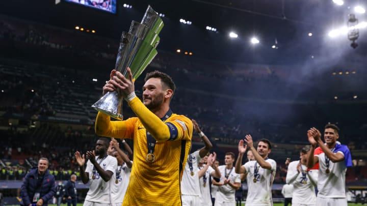 Frankreich durfte den Nations-League-Sieg bejubeln