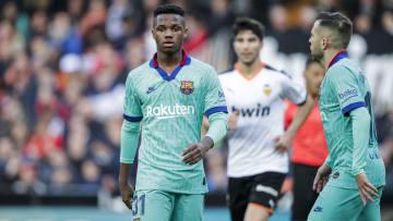 Barcelona e Valencia vão se enfrentar pela LaLiga neste final de semana.
