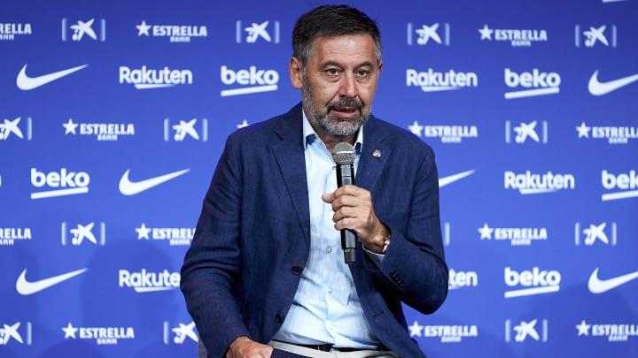 Bartomeu has hit back at Barcelona's debt claims