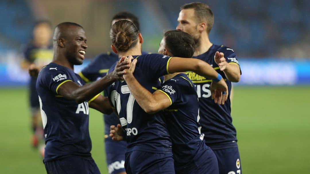 Fenerbahçe oyuncularının gol sevinci