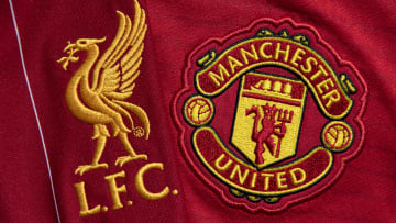 The Liverpool and Manchester United Club Crests