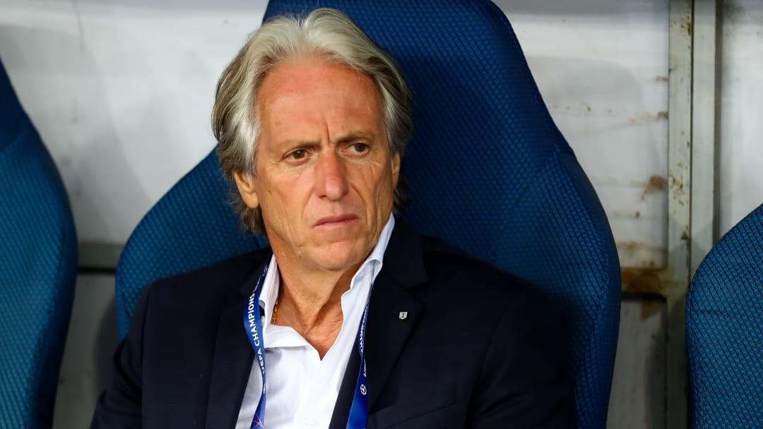 Contrato de Jorge Jesus termina no final da temporada 2021/2022.