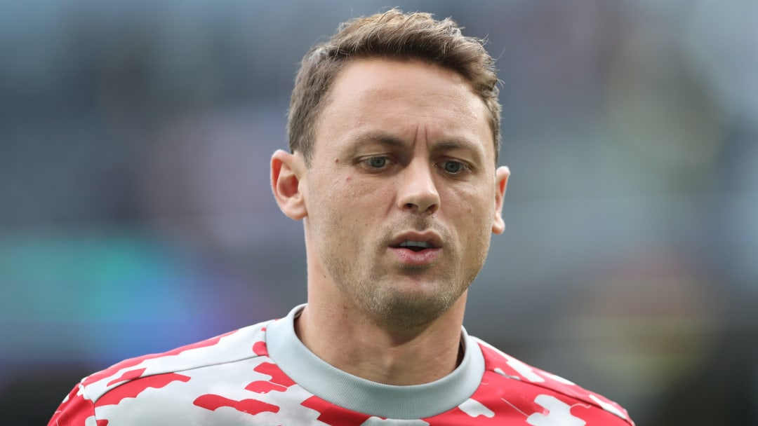 Matic was substituted late in the game
