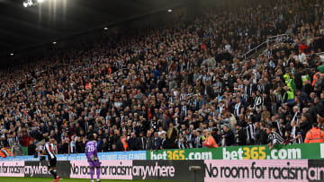 The Newcastle fan who collapsed at St James' Park is recovering well