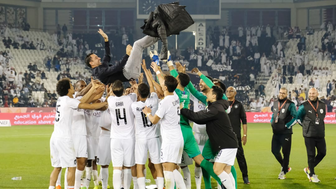 Xavi ya sabe lo que es ganar campeonatos como entrenador
