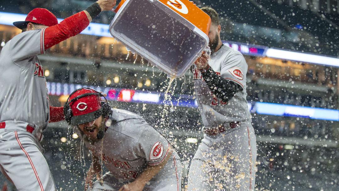 """Cincinnati Reds v Cleveland Indians""""n"""