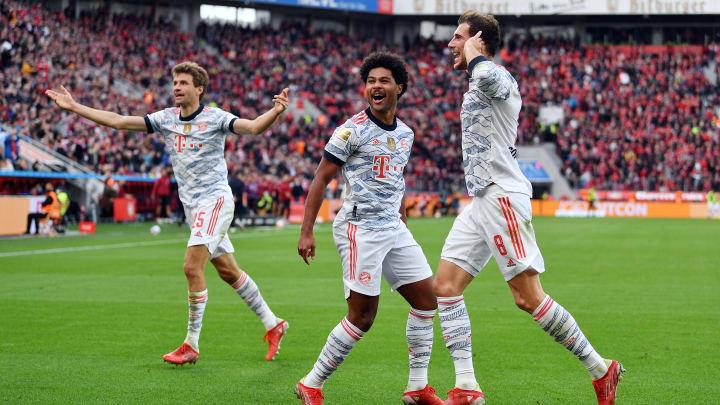 Bayern atropelou o Leverkusen fora de casa