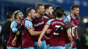 West Ham were victorious at Goodison Park in January