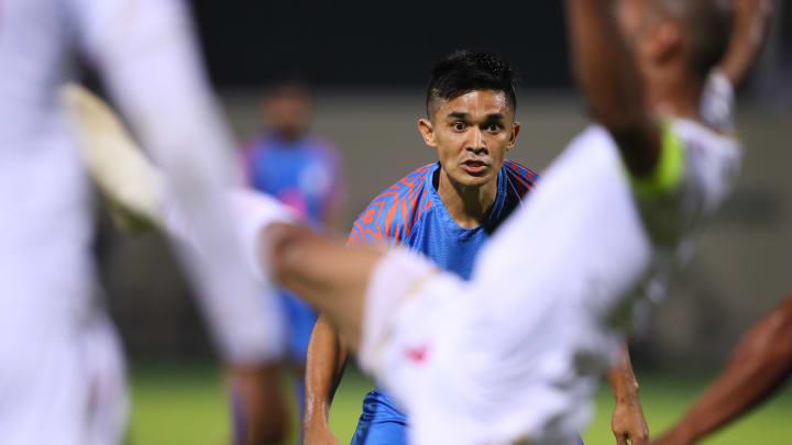 Chhetri bagged a brace vs Maldives