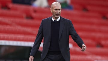 Zinedine Zidane has been linked with the managers job at Manchester United