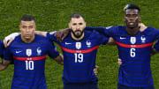 Kylian Mbappé, Karim Benzema y Paul Pogba, un tridente de ensueño para el Real Madrid
