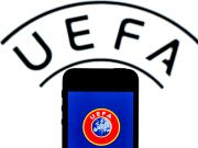 Il logo della UEFA