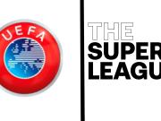 I loghi di UEFA e Superlega
