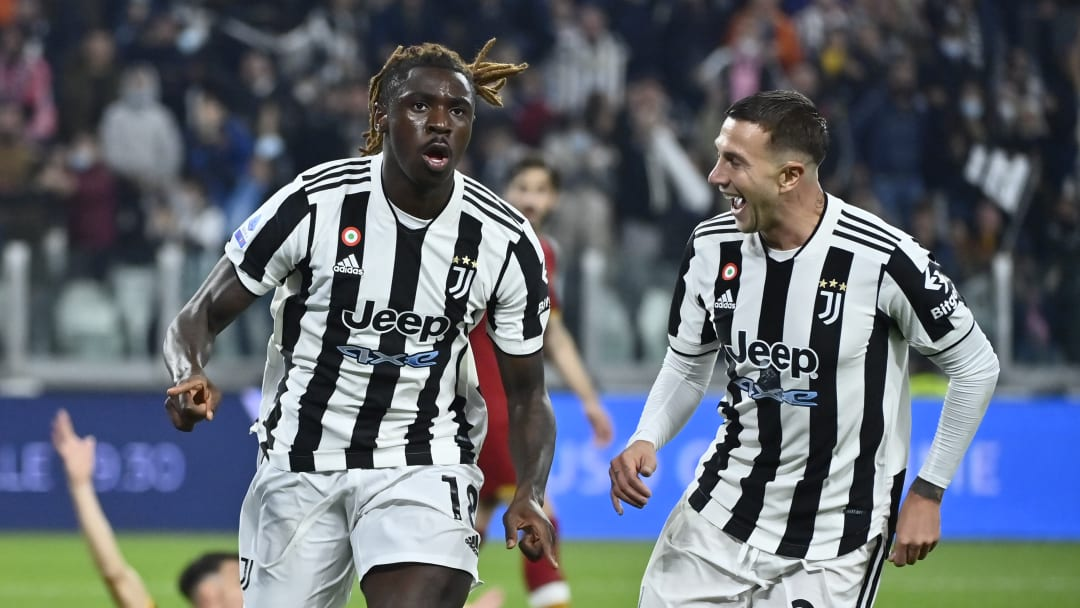 Moise Kean scored the only goal at the Allianz Stadium
