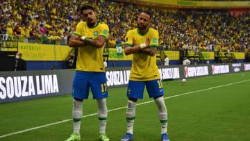 Lucas Paqueta et Neymar pourraient un jour participer à la igue des Nations.