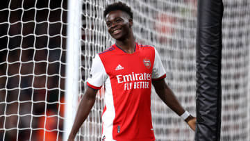 Saka received a message of support from Henry