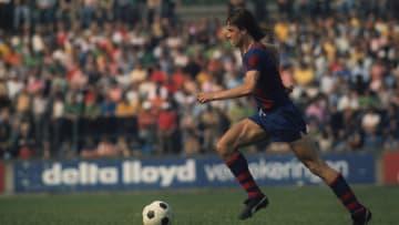 Johan Cruijff conduziu uma das maiores goleadas do Barcelona na história do El Clásico