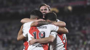 River Plate v Argentinos Juniors - Torneo Liga Profesional 2021