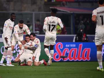 AC Milan kalahkan Bologna dengan skor 3-2