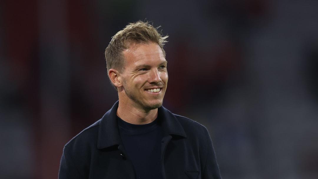 Julian Nagelsmann braucht keinen Job in der Premier League, um glücklich zu sein