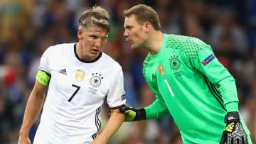 Bastian Schweinsteiger und Manuel Neuer prägten eine erfolgreiche Generation