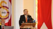 Mustafa Cengiz konuşma yapıyor.