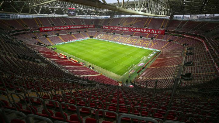 Galatasaray Stadyumu'nun bir görüntüsü