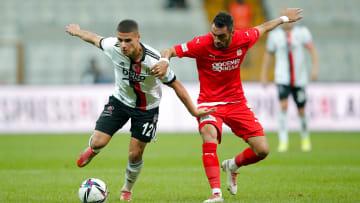 Can Bozdogan ist für Besiktas im Dienst