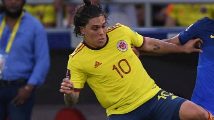 Juan Fernando Quintero will have the responsibility of assuming the reins of Colombia's offensive system
