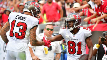 Tampa Bay Buccaneers wide receiver Antonio Brown's latest injury update boosts Mike Evans and Chris Godwin's fantasy outlooks ahead of Week 8.